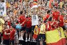 Celebración de la copa del mundo de fútbol