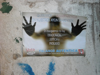Cartel de las Municipales 2011