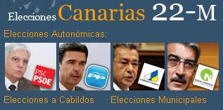 Cartel de los partidos canarios