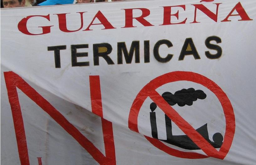 Falange Autentica contra la instalación de una central térmica en Guareña